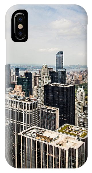 Architectural iPhone Case - Skyscraper City by Az Jackson
