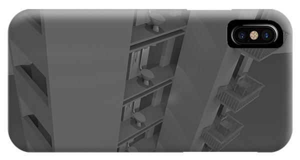 Toilet Humor iPhone Case - Skyscraper Eight by Rolf Bertram