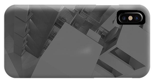 Toilet Humor iPhone Case - Skyscraper Nine by Rolf Bertram