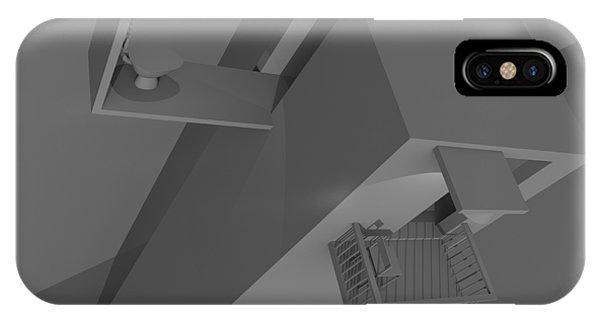 Toilet Humor iPhone Case - Skyscraper Ten by Rolf Bertram