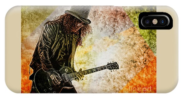 Slash - Guitarist IPhone Case