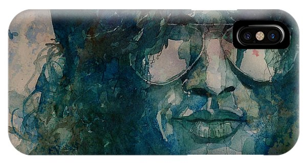 Musicians iPhone X Case - Slash  by Paul Lovering