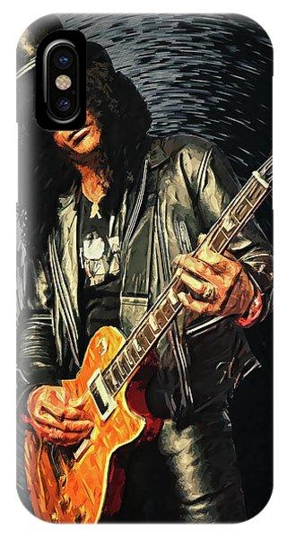 Guitar Legends iPhone Case - Slash by Zapista
