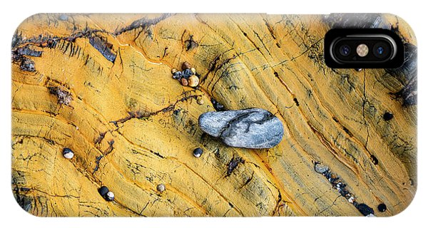Slate Cobble On Rock IPhone Case