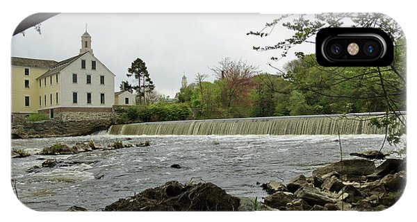 Slater Mill And Dam IPhone Case