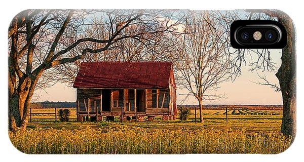 Slave Quarters - Laura Plantation - Vacherie, Louisiana IPhone Case