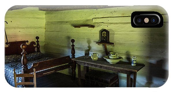 IPhone Case featuring the photograph Slave Quarters - The Hermitage by James L Bartlett