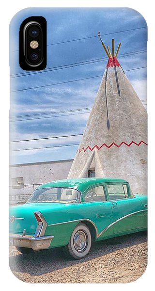 Sleep In A Wigwam IPhone Case