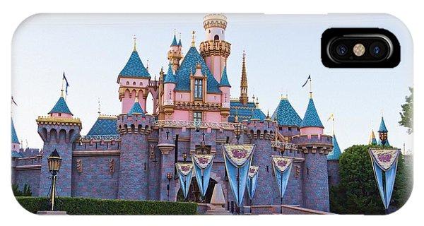 Sleeping Beauty's Castle Disneyland IPhone Case