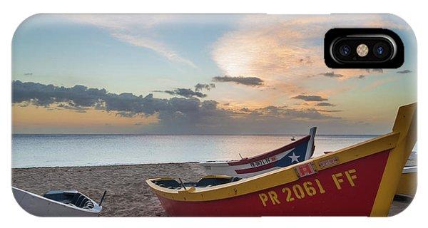 Sleeping Boats On The Beach IPhone Case