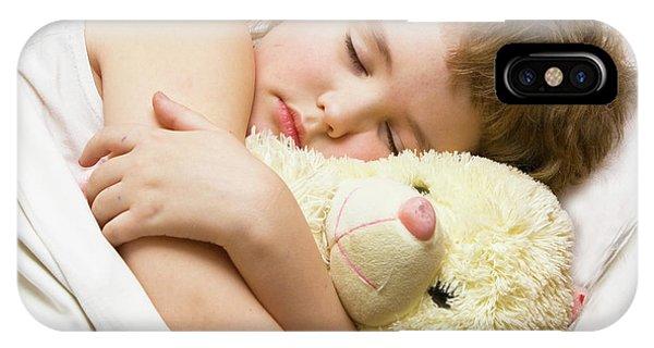 Sleeping Boy IPhone Case