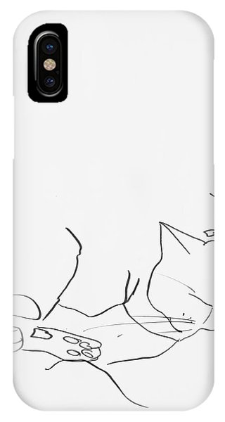 Sleeping Cat II IPhone Case