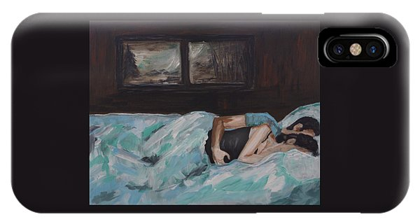 Sleeping In IPhone Case