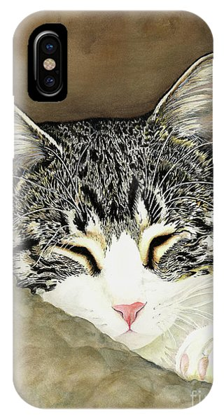 Sleeping Mia IPhone Case