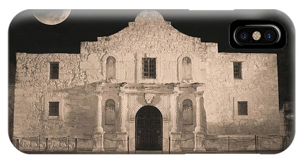 The Alamo iPhone Case - Sleeping Spirit Of The Alamo by Carol Groenen