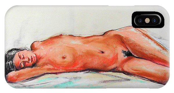 iPhone Case - Sleepingblue by Johannes Margreiter