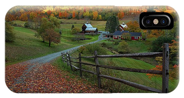 Sleepy Hollow Farm- Pomfret Vt IPhone Case