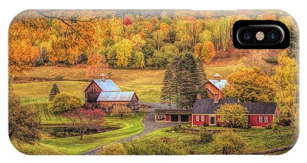 Sleepy Hollow - Pomfret Vermont In Autumn IPhone Case