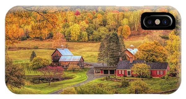 Sleepy Hollow - Pomfret Vermont In Autumn IPhone Case