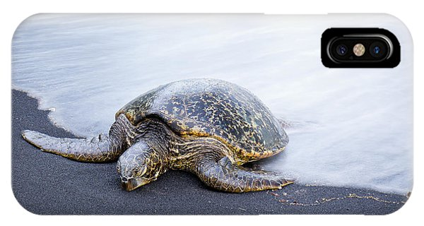 Sleepy Honu IPhone Case