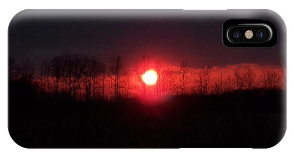 Slice Sunset IPhone Case