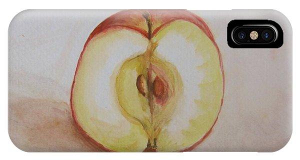 Sliced Apple IPhone Case
