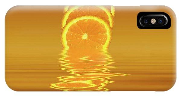 Slices Orange Citrus Fruit IPhone Case