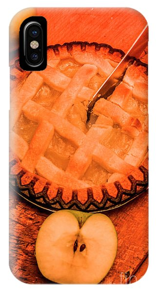 Cutting iPhone Case - Slicing Apple Pie by Jorgo Photography - Wall Art Gallery