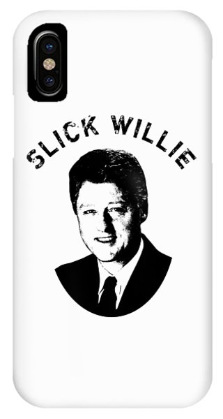 Slick Willie - Bill Clinton IPhone Case