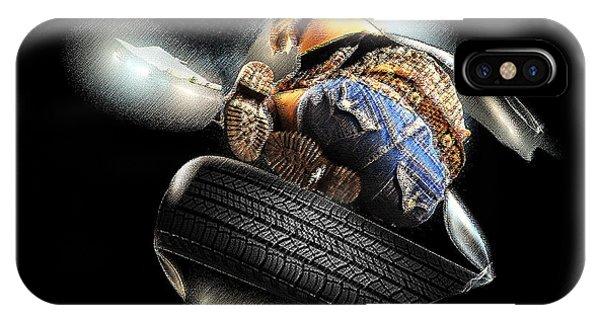 Slide Off Tire Phone Case by Viktor Savchenko