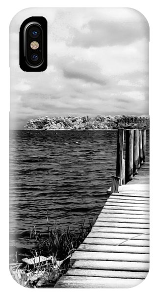 Slippery Dock IPhone Case