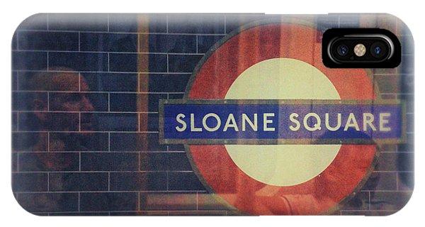 Sloane Square Portrait IPhone Case