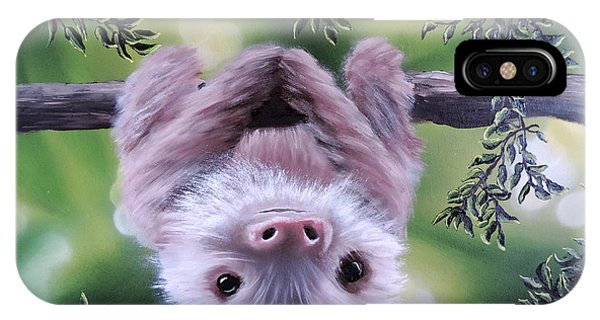 Sloth'n 'around IPhone Case
