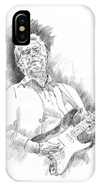 Eric Clapton iPhone Case - Slowhand by David Lloyd Glover