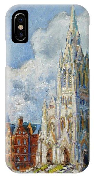 Slu - Grand And Lindell, Saint Louis IPhone Case