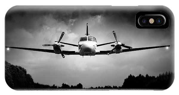 Avian iPhone Case - Small Airplane Low Flyby by Johan Swanepoel