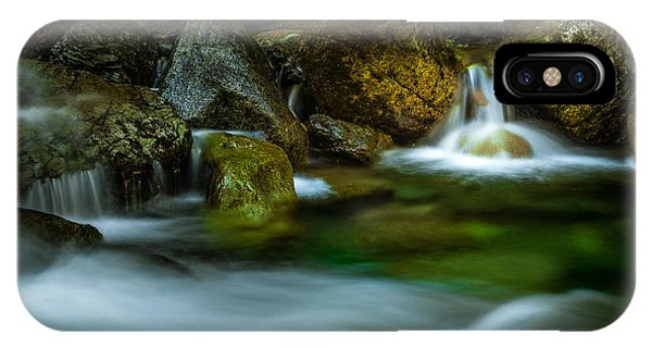 Small Falls In A Big Rush IPhone Case
