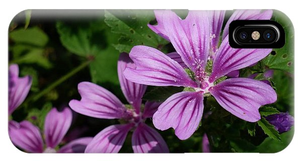 Small Mauve Flowers 6 IPhone Case