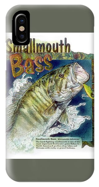 Smallmouth Bass IPhone Case