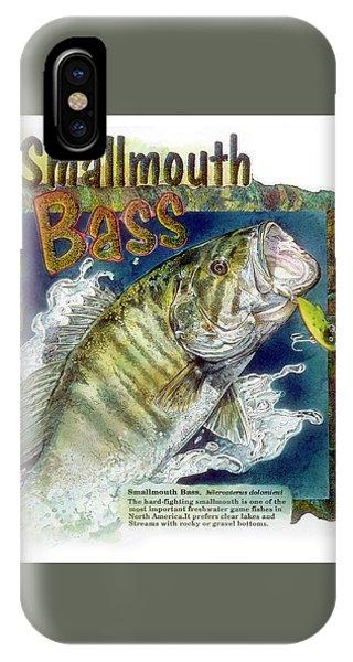 Smallmouth Bass IPhone Case