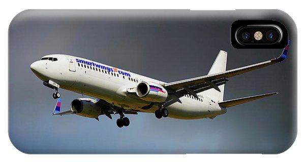Berlin iPhone Case - Smartwings Boeing 737-900er by Smart Aviation