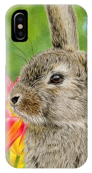 Smell The Flowers IPhone Case