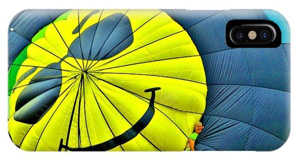 Smiley Face Balloon IPhone Case