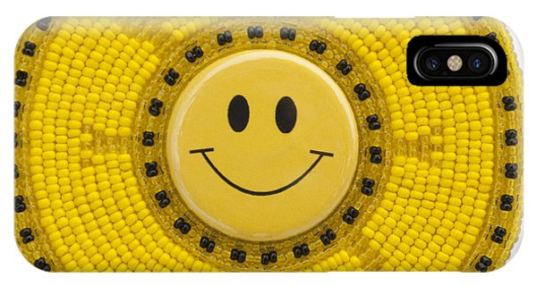 IPhone Case featuring the mixed media Smiley Face Turtle by Douglas K Limon