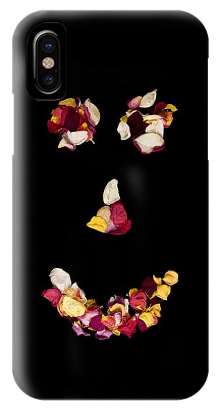 Smiley Rose IPhone Case