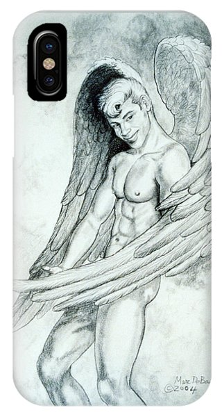 Smiling Angel IPhone Case