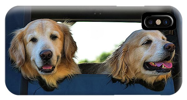 Smiling Dogs IPhone Case