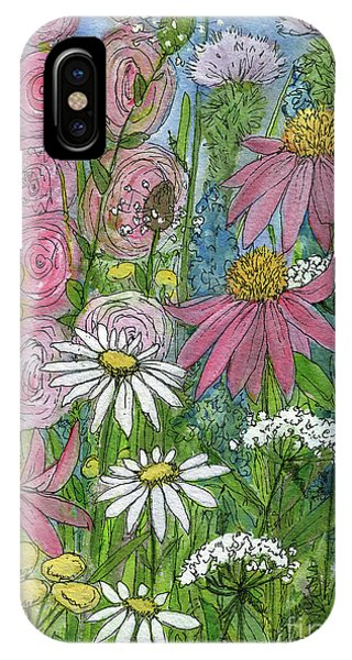 Smiling Flowers IPhone Case