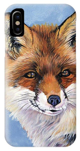 Smiling Fox IPhone Case