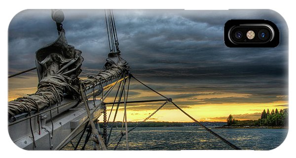 Smith Cove Sunset IPhone Case